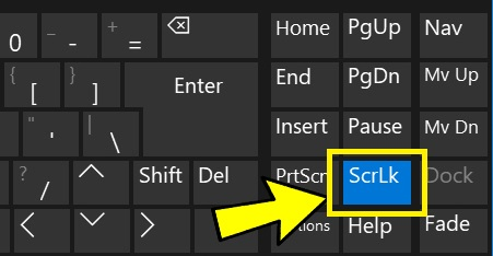 What Is A Scroll Lock Key ? What Does It Do ?