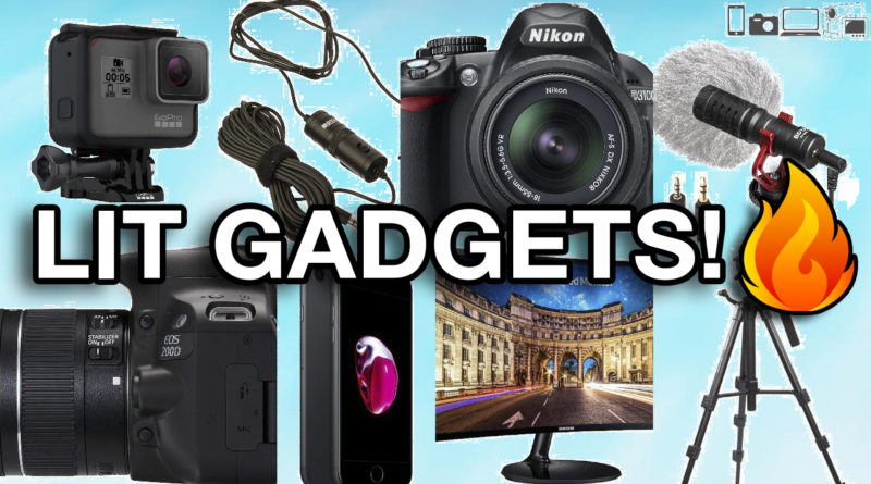 Gear that I use to record my YouTube Videos