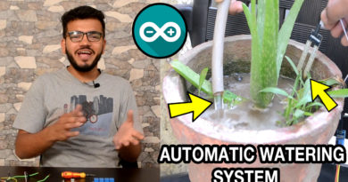 Code and Circuit Diagram for Automated Irrigation System using Arduino Uno