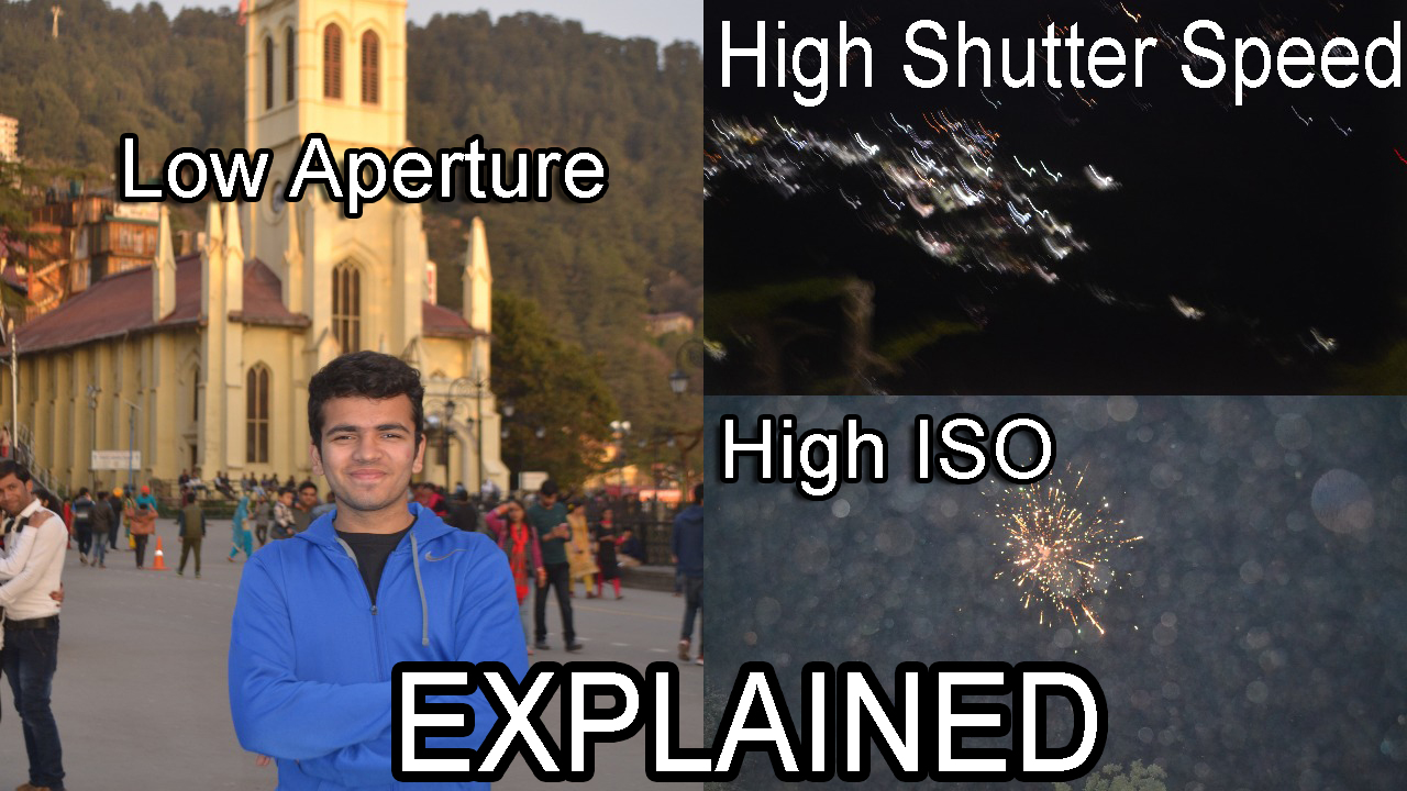 Camera Basics ISO, Aperture, Shutter Speed. EXPLAINED !