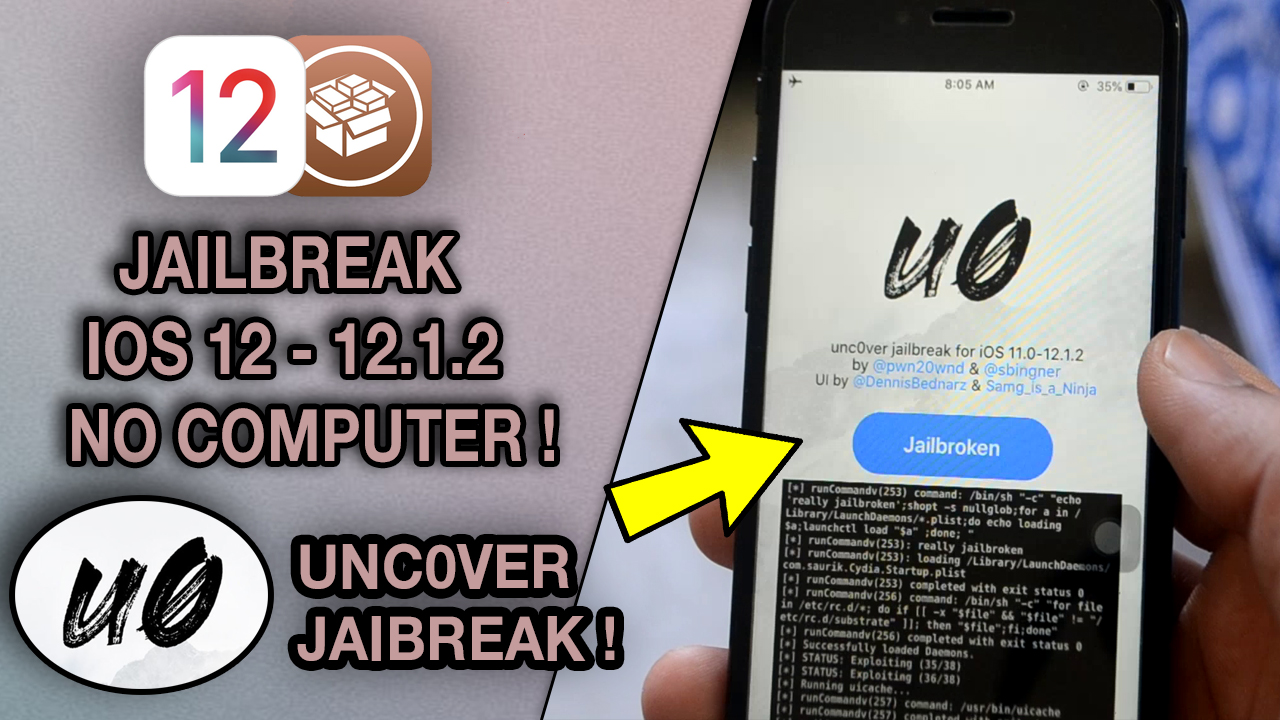 How to Jailbreak iOS 12 with Unc0ver Jailbreak (No Computer) + How to downgrade to iOS 12.1.1 beta 3
